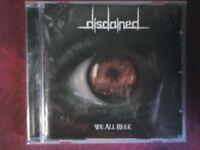 DISDAINED - WE ALL REEK (2008). CD.