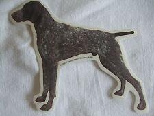 GRAND AUTOCOLLANT  - motif chien  BRAQUE ALLEMAND