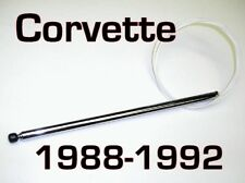 CORVETTE Power Antenna MAST 1988-1992 + How 2
