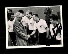Hans Schäfer DFB Kosmos Sammelbild WM 1954 Original Signiert+ A 150210
