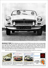MG MGB 1965 RETRO POSTER A3 PRINT FROM CLASSIC ADVERT