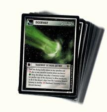 STAR TREK CCG THE BORG COMMON FULL SET (42 Karten)