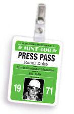 Hunter S. Thompson • Fake Press Pass • STYLE B • Halloween Costume Accessory