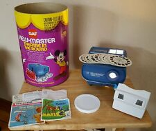 Vintage 1967 GAF View-Master Theatre in the Round Projector with View-Master