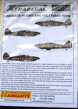 Xtradecal 1/72 X72193 Hurricane Mk I 'Fabric Wing' Decals
