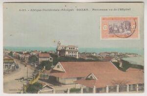 Senegal postcard - senegal, Dakar - Panorama vu de l'Hopital - P/U (A67)