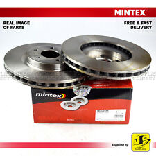 2X MINTEX FRONT DISC BRAKES MDC2548 MERCEDES BENZ A-B-CLASS CLA GLA-CLASS X156