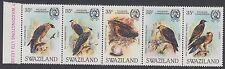 BIRDS : 1983 SWAZILAND Lammergeier  set SG425-9 MNH