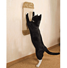 Cat Kitten Scratching Board On Wall Activity Centre Sisal Climbing Toy