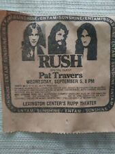 "1979 ""Rush"" in Concert Ad"