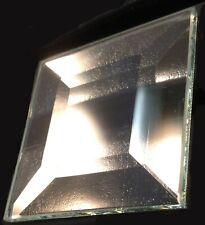 """2"""" X 2"""" Square Glass Bevels on 5mm 30pcs B22"""
