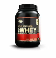 Optimum Nutrition Gold Standard Whey Protein Powder, Double Rich Chocolate, 908