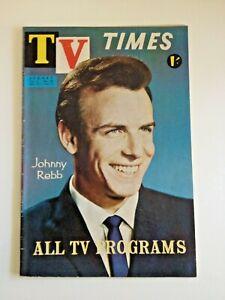 Vintage TV TIMES Magazine Dec 31 1960 - Jan 6 1961 -  Johnny Rebb Cover