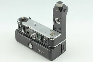 [Exc+5] Nikon MD-2 Motor Drive + MB-1 Battery Pack for F2 from JAPAN