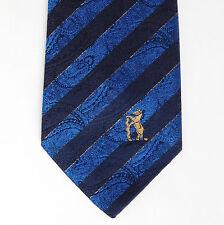 Paisley Cravatta Orso Warwickshire County Cricket Club inutilizzati Strisce Blu W CCC wccc