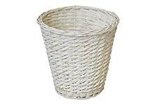 JVL Waste Paper Basket In White