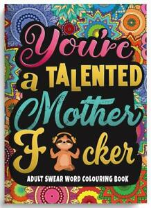 Adult Colouring Books Swear Word Release Your Anxiety Paperback -150gsm Paper
