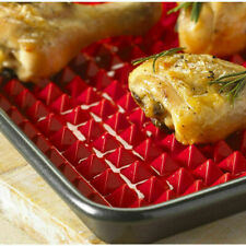 Non-stick Pan Liner Tray Oven Sheet Baking Mat Mould Silicone Pyramid Cook 1 Pc