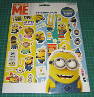 Despicable Me Minions Sticker Fun With 5 Sticker Sheets ideal stocking filler