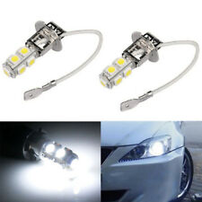2PCS H3 LED 6000K White 9*5050 LED Bulbs Fog Driving Lamp Lights Vehicle 12V-24v
