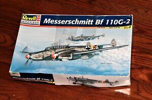 Revell Monogram Messerschmitt Bf 110G-2 plane model kit 1/48 scale  - open box ✈