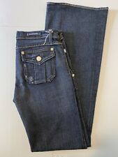 """Rock & Republic Extra Long SIOUXSIE Flare Denim Jeans Inseam 35"""" Size 29"""