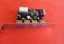 Carte PCI Express PCI-E avec 4 ports USB 3.0 - NEUF