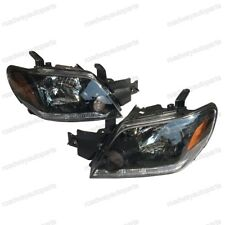 Headlights Headlamps Left & Right Lamp Pair for Mitsubishi Outlander 2003-2006