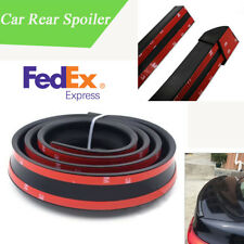 US Shipping 1.5M Car Rear Roof Hatch Gate Trunk Spoiler Rubber Strip Flexible