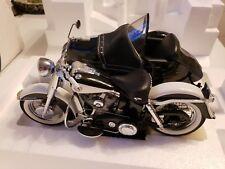 Franklin Mint Harley Davidson 1958 Duo Glide W/Sidecar