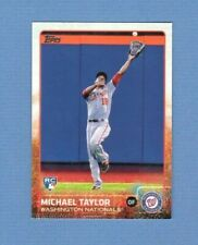 2015 Topps #132 Michael Taylor Rookie