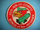 VIETNAM WAR PATCH, US 25th AVIATION Co. (CORPS) WINGS OF THE JAYHAWK