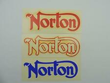 3 NOS Vintage Webco Norton Decals Atlas Commando Dominator International 2347rs