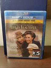 New Sealed Life Is Beautiful Blu-ray Disc 2011 Oop Rare Classic Roberto Benigni