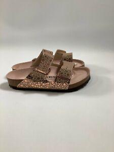 Women's Birkenstock Metallic Stones Copper Arizona BS Sandals Med Width NEW! NIB