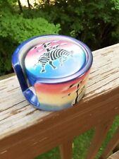 Fair Trade Handcrafted Soapstone Coaster Set (home goods)