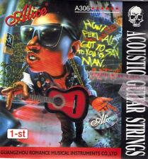 "10 x E 1st string - Acoustic Guitar Strings Stainless Steel .010"" New UK"