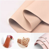 1-2mm Natural Genuine Cow Leather Sheet DIY Craft Piece 20*14-30*30cm UK