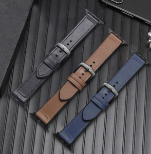 Apple Watch Hybrid Leather and Silicone Strap/Band