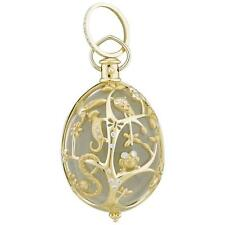 Temple St. Clair 18k Gold Diamond Crystal Anima Earth Large Pendant $17500