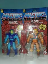 Masters of the Universe Origins MOTU He-Man & Skeletor Combo