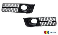 NEW GENUINE AUDI A8 D3 04-07 LEFT RIGHT BUMPER FOG LIGHT GRILL TRIM SURROUND SET