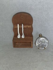 Vintage Miniature Mart BLAUER Spoon or Ladle Holder WALL PIECE