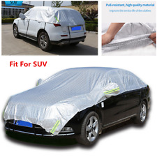 Car SUV Semi-body Cover Waterproof Sun Shade Heat Protection PE film+cotton wool