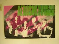 Aerosmith Poster Band Shot Done With Mirrors Old