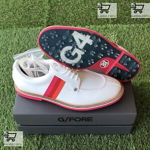 G/Fore G4 Limited Ribbon Gallivanter Golf Shoe Sneaker ⛳️ US 12 ⛳️ White Red
