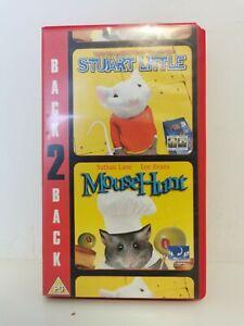 STUART LITTLE / MOUSE HUNT BACK TO BACK VHS retro