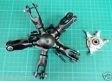 5 Blades Main Rotor Head Set For 550 ( .30 ) size Scale Include Swash Plate  NIB
