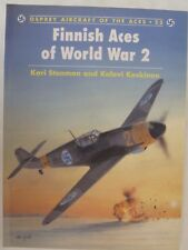 Osprey - Finnish Aces of World War 2 (Aircraft of Aces 23)