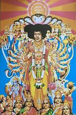 Jimi Hendrix Axis Bold Is Love Poster 24 X 36